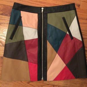 Gorgeous multicolor mini skirt